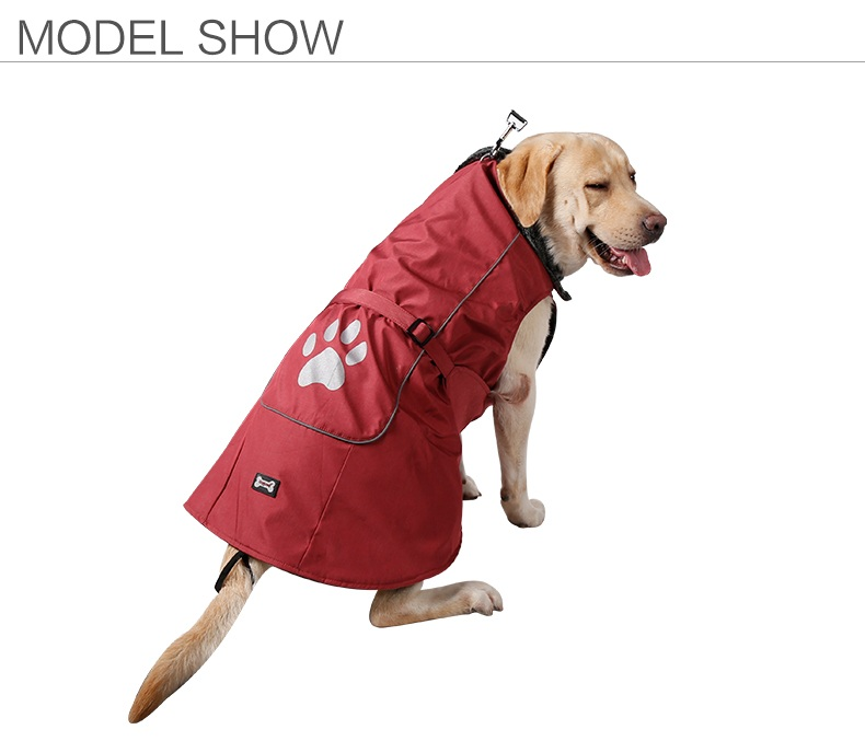 Hot Selling Cold Weather Fleece Lined Sports Dog Pet Vest Clothe Waterproof Dog Hoodies Ropa Perro