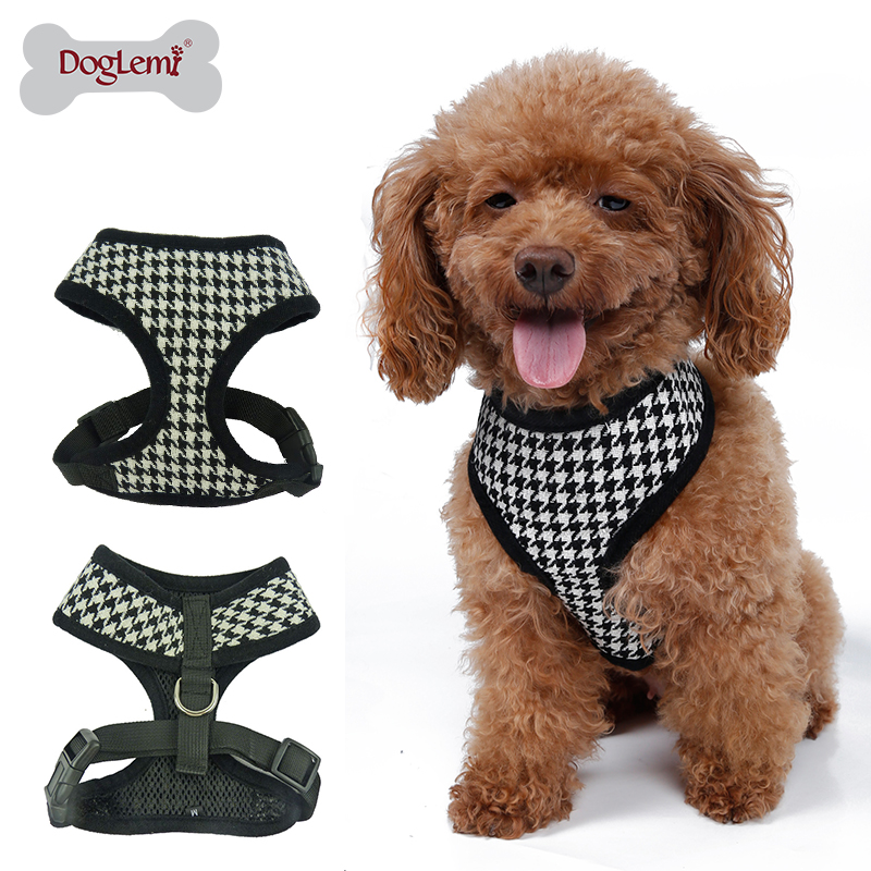 Accept Customized Outdoor Walking Fashion Dog Products Pet Harness Vest