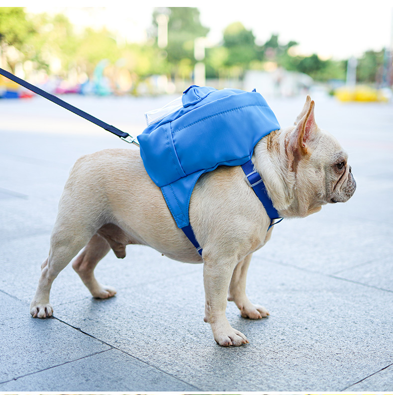 Backpack for dogs harness ,dog self backpack harness for pets