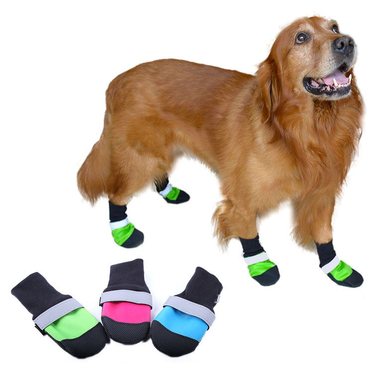 Pet Product Wholesale Waterproof Winter Anti slip  Pet Dog Shoes And Boots