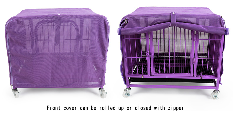 Mesh Pet Large Dog Cage Cover Breathable Covers