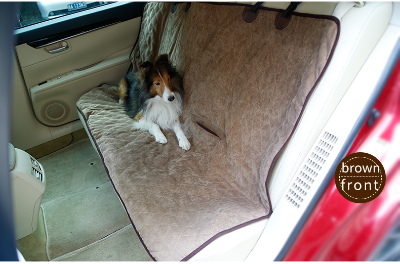 Back Seat Dog Pet Car Seat Cover Protector