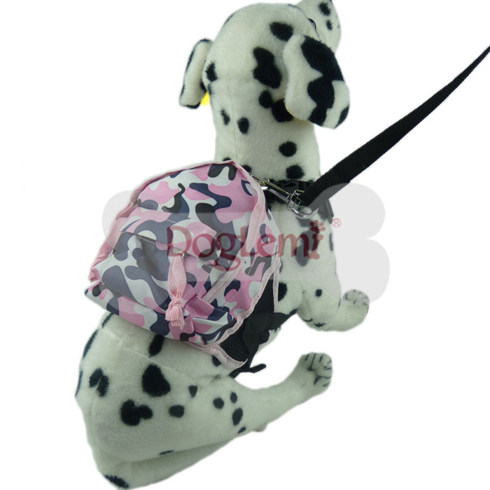 Outdoor Travel Camouflage Camping Hiking Small Medium Pet Dog Backpack