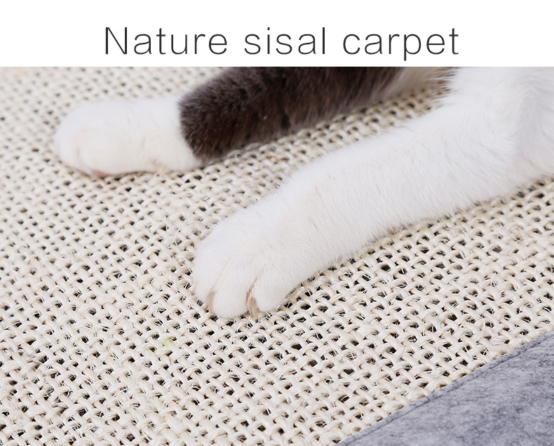 Cat Scratching Mat Nature Toys Blanket for Cats