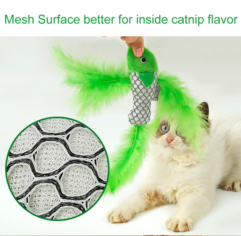 Fish Shape Interactive Cat Toys Pack with Catnip Kitten Toy Cat Scratcher Toy