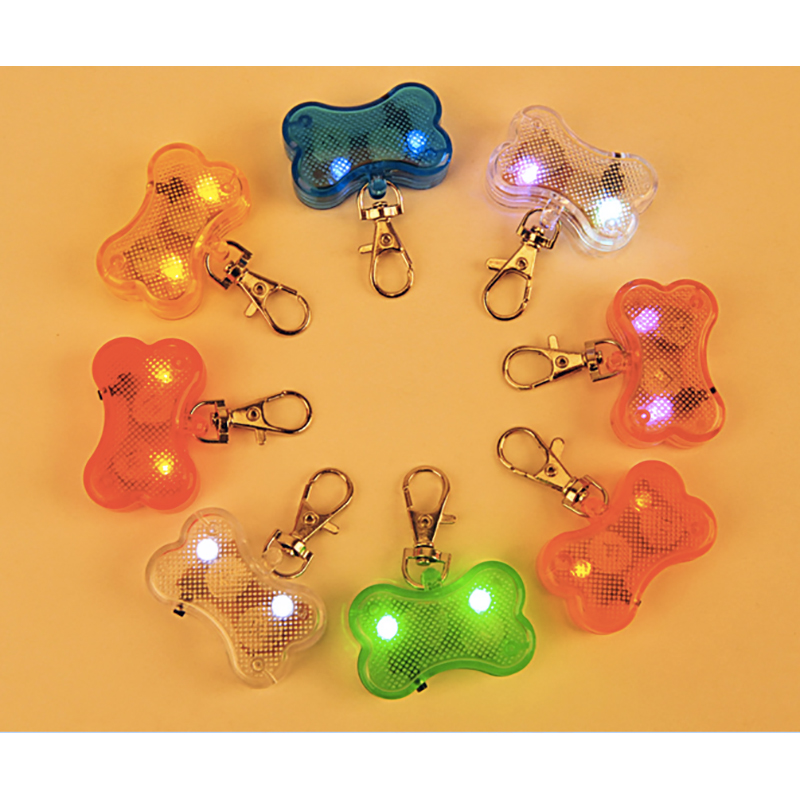 Pet Tag Dog Led Tag Safety Glow in the dark Flashing Pet ID Tags