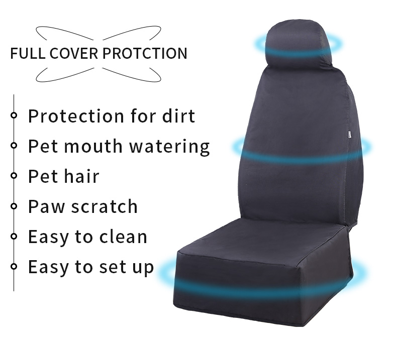 Dog car seat cover pet safety protector car rear seat ,pet car seat bag cover traveling