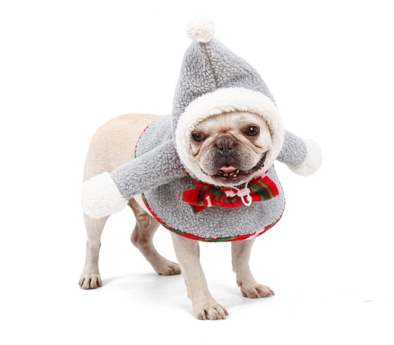 Pet supplies xmas dog cat clothes winter ,Christmas clothes for pets